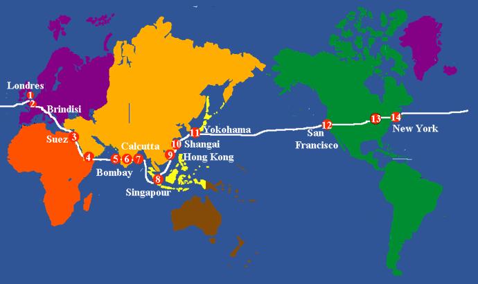 La meilleure façon de planifier votre itinéraire de voyage